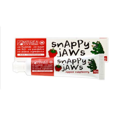 SNAPPY JAWS RIPPER RASPBERRY TOOTHPASTE 75g