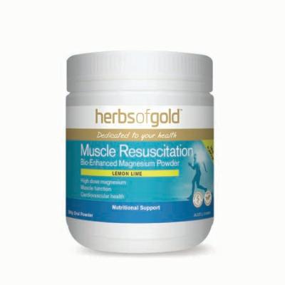 MUSCLE RESUSCITATION LEMON LIME 300g magnesium (mg)