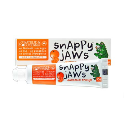 SNAPPY JAWS AWESOME ORANGE TOOTHPASTE 75g