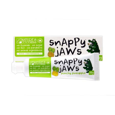 SNAPPY JAWS PUNCHY PINEAPPLE TOOTHPASTE 75g