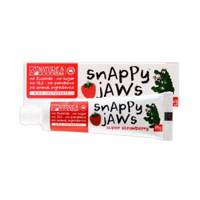 SNAPPY JAWS SUPER STRAWBERRY TOOTHPASTE 75g