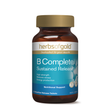 B COMPLETE SUSTAINED RELEASE 120Tabs complex