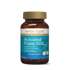 ACTIVATED FOLATE 500 60Caps