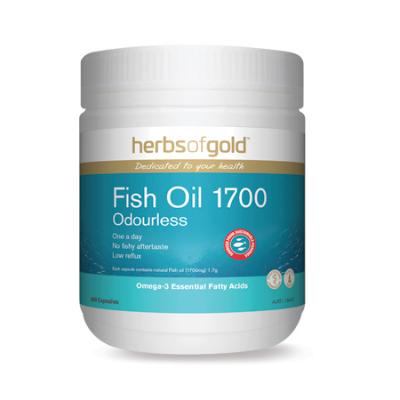 FISH OIL 1700 ODOURLESS 400Caps fish oils