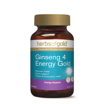 GINSENG 4 ENERGY GOLD 60Tabs complex