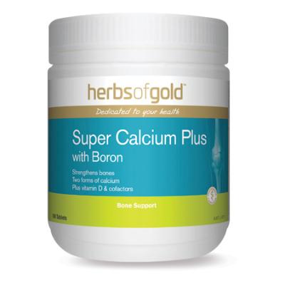 SUPER CALCIUM PLUS WITH BORON 180Tabs complex