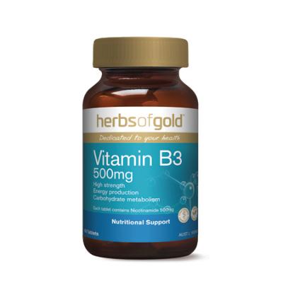 VITAMIN B3 500mg 60Tabs B3