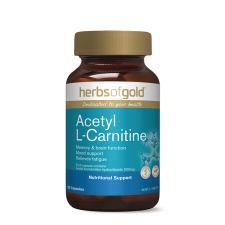 ACETYL L-CARNITINE 120Vcaps