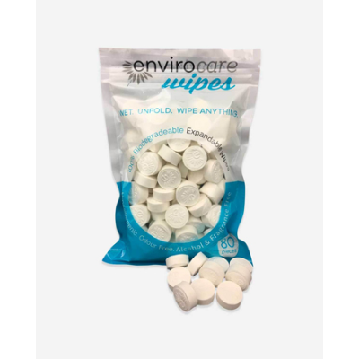 SPACE WIPES COMPRESSED 80pk (BX5)