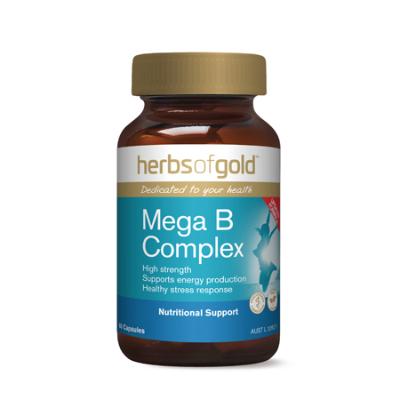 MEGA B COMPLEX 60Vcaps complex