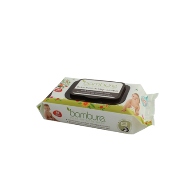 BAMBOO BABY WIPES 80Pk (BX12)