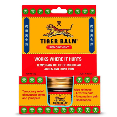 TIGER BALM RED EXTRA STRENGTH OINTMENT 18g