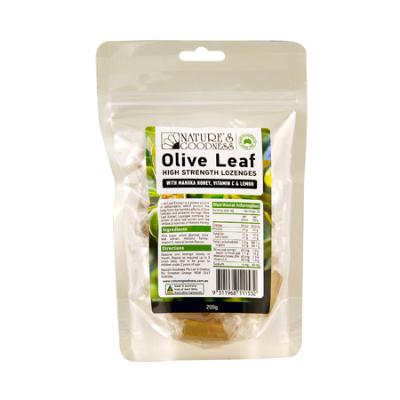 OLIVE FRUIT ANTIOXIDANT LOZENGES 200G