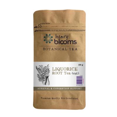 LIQUORICE ROOT CUT TEA 100g Liquorice/Licorice