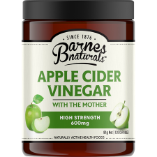 APPLE CIDER VINEGAR HIGH STRENGTH 600mg 120Caps *TEMP UNAVAILABLE*