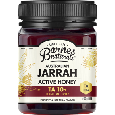 AUSTRALIAN JARRAH ACTIVE HONEY TA 10+ 500g
