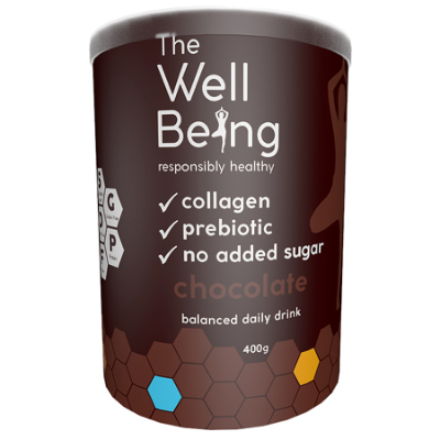 THE WELL BEING COLLAGEN CHOCOLATE 400g