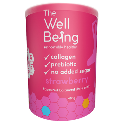 THE WELL BEING COLLAGEN STRAWBERRY 400g