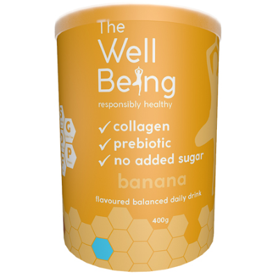 THE WELL BEING COLLAGEN BANANA 400g