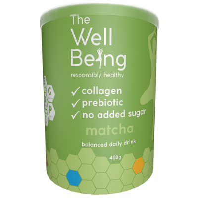 THE WELL BEING COLLAGEN MATCHA 400g