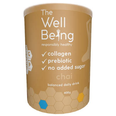 THE WELL BEING COLLAGEN CHAI 400g