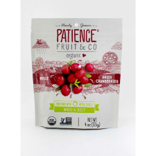 ORGANIC DRIED CRANBERRIES (WITH APPLE JUICE) 113g (BX8)