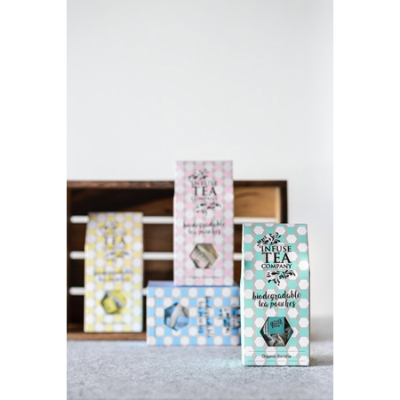 ORGANIC CHOC MINT TEA POUCHES 15pk (BX8)