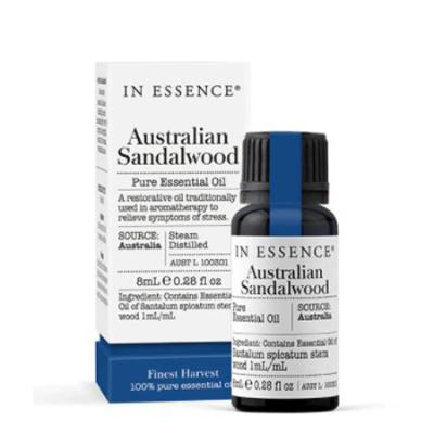 SANDALWOOD AUSTRALIAN PURE ESSENTIAL OIL 8ml *CTP*