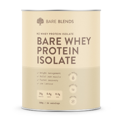 BARE WHEY PROTEIN ISOLATE 500g