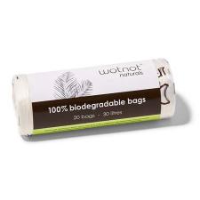 100% BIODEGRADABLE BAGS 30L 20Pk