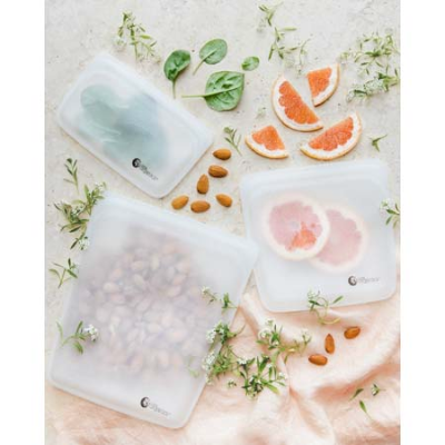 SUSTAINABLE SILICONE POUCH SET 3Pk