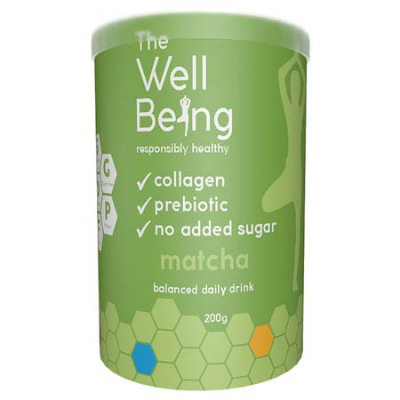 THE WELL BEING COLLAGEN MATCHA 200g