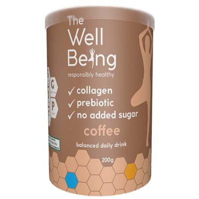 THE WELL BEING COLLAGEN COFFEE 200g