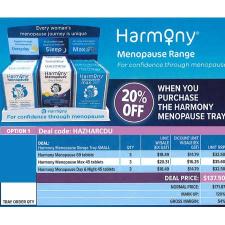 HARMONY MENOPAUSE RANGE SMALL TRAY