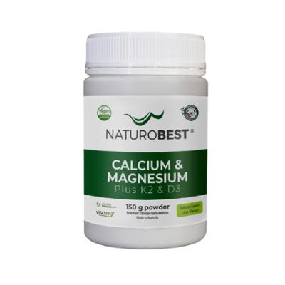 CALCIUM & MAGNESIUM PLUS K2 & D3 150g