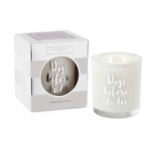 MANDARIN, BASIL AND LIME SOY CANDLE 370g