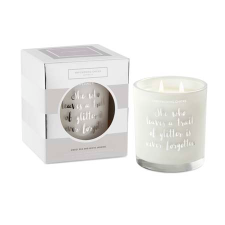 SWEET PEA AND WHITE JASMINE SOY CANDLE 370g