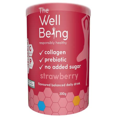 THE WELL BEING COLLAGEN STRAWBERRY 200g
