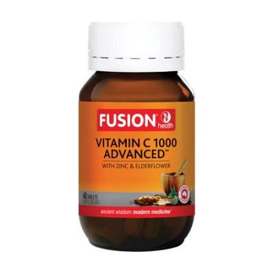 VITAMIN C 1000 ADVANCED 60Tabs Calcium ascorbate