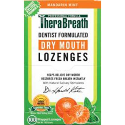 THERABREATH DRY MOUTH LOZENGES 100pk
