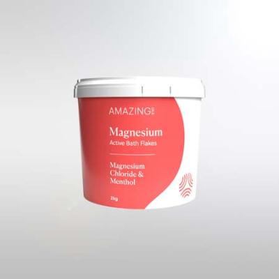 MAGNESIUM ACTIVE BATH FLAKES 2Kg