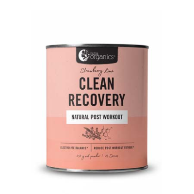 CLEAN RECOVERY STRAWBERRY LIME 250g