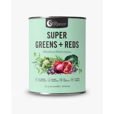 SUPER GREENS & REDS 150g