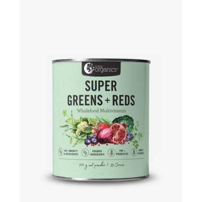SUPER GREENS & REDS 300g