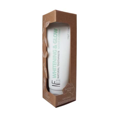 WHITENING & GLOW NATURAL TOOTHPASTE 100g