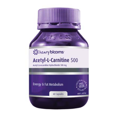ACETYL-L-CARNITINE 500 60Caps