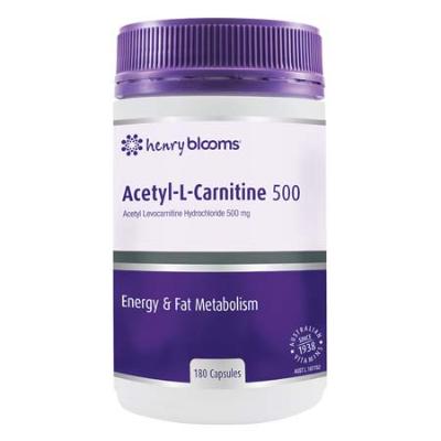 ACETYL-L-CARNITINE 500 180Caps