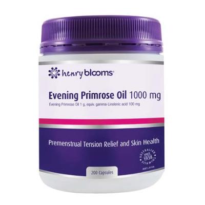 EVENING PRIMROSE OIL 1000mg 200Caps EPO (Evening Primrose Oil)