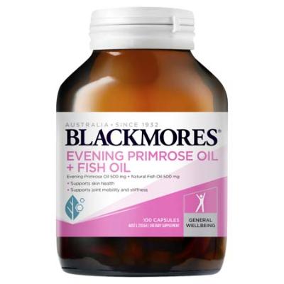 EVENING PRIMROSE OIL + FISH OIL 100Caps COMPLEX